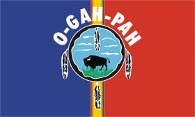 Quapaw Tribe Flag