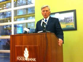 Mike Beebe Arkansas Foodbank