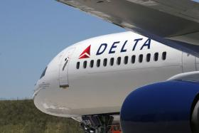 Delta Airlines Airplane