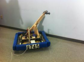 a students-built robot