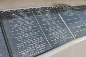 Names of the most recent Arkansas firefighters who have lost their lives.