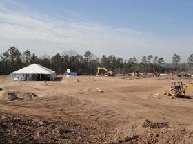 The future location of MISO's Little Rock Regional headquarters.