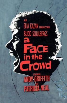 "Movie poster for ""A Face in the Crowd"""