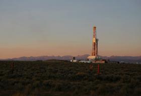 Natural Gas Drilling Site