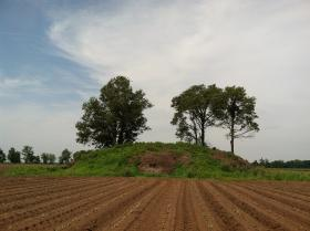 An American Indian mound in Coy, Arkansas.