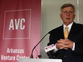 Governor Mike Beebe at the launch of AVC.