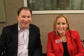 GOP AG Candidates David Sterling and Leslie Rutledge