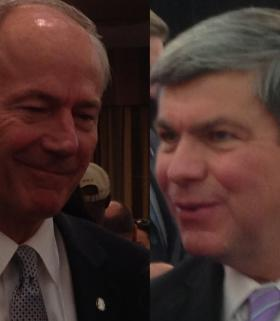Asa Hutchinson, Mike Ross