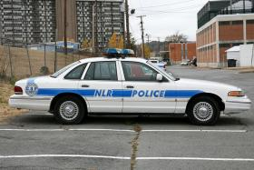 North Little Rock Police Department car.