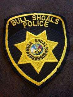 Bull Shoals Police Badge