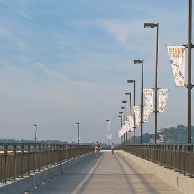 A segment of the Big Dam Bridge