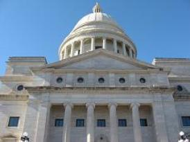 Arkansas Capitol building.