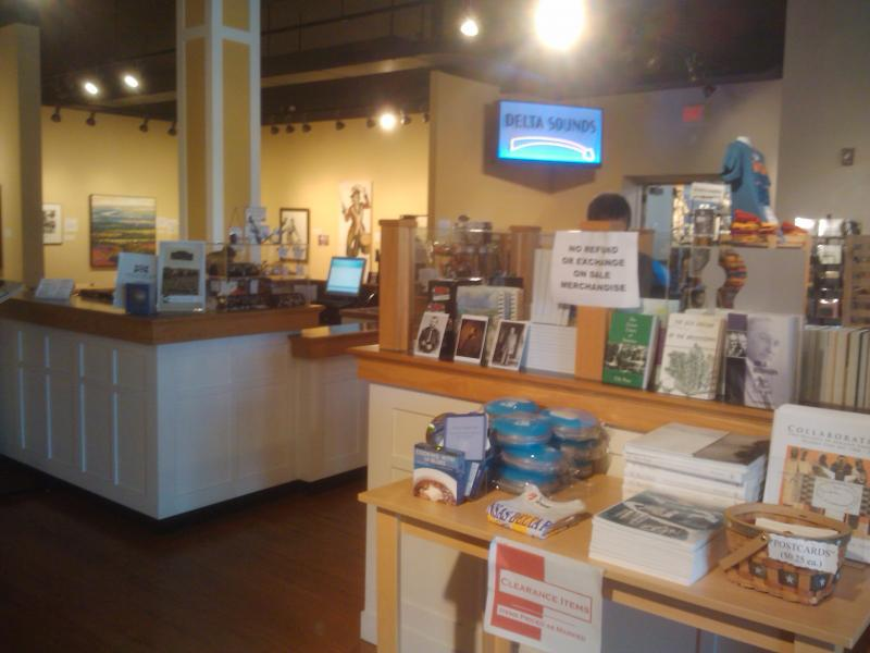 The Delta Cultural Center Gift Shop.