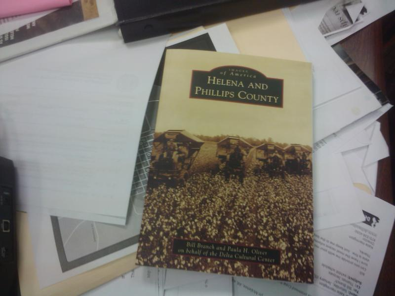 "Paula Oliver's book ""Images of America: Helena and Phillips County."""