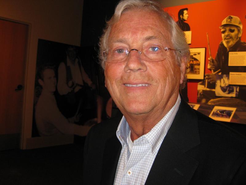 Joe Griffith inside the Delta Cultural Center.