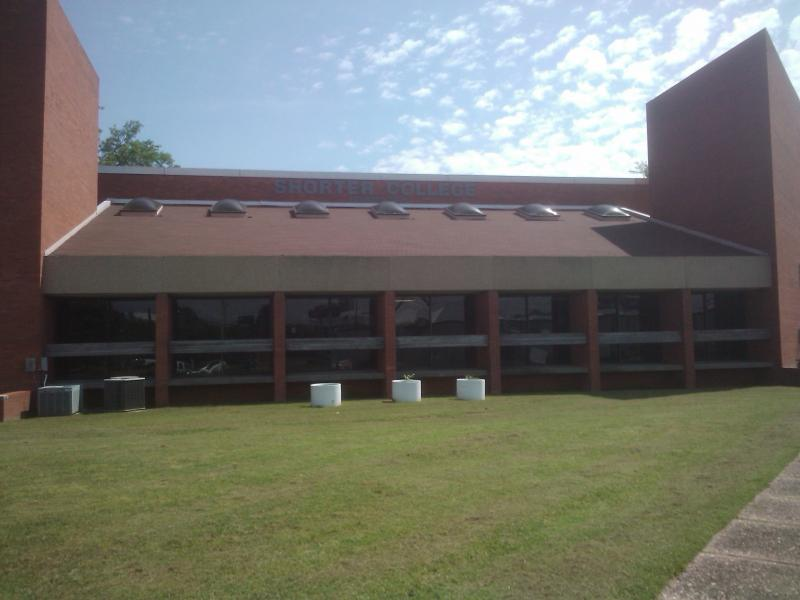 One of the main buildings on the campus of Shorter College in North Little Rock, Arkansas.