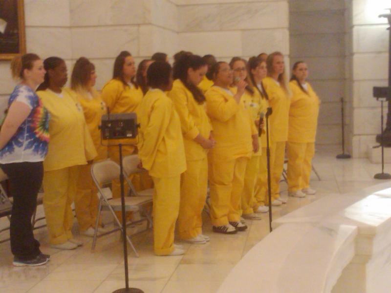 Arkansas Department of Community Correction Women's Choir