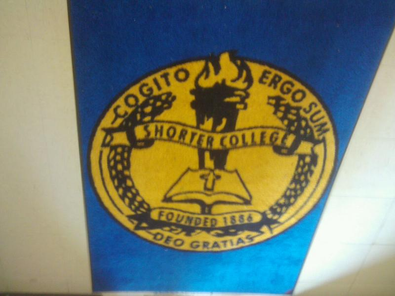 The official seal of Shorter College