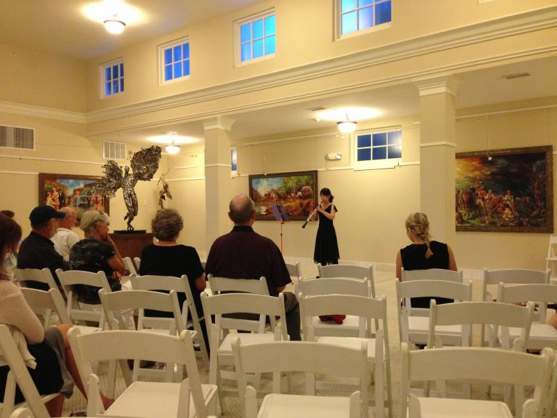 A Festival Oboist performs music of Britten on Saturday in Hot Springs.