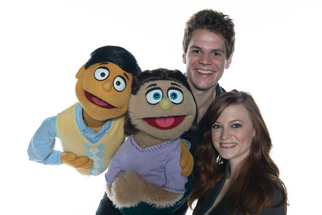 Will Holly as Princeton with Bailey Means as Kate Monster.