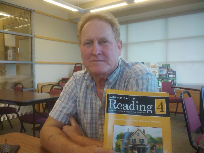 Sammy King is an adult learner in the Literacy Action program.
