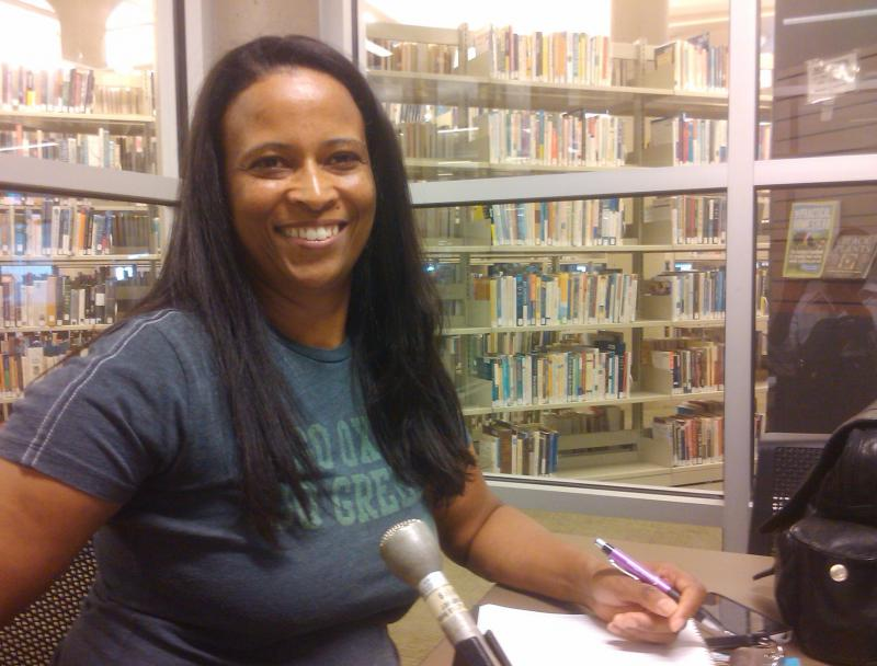 Cristina Randolph is an adult learner in the Literacy Action program.
