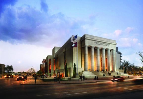 Proposal of what the renovated Robinson Center Music Hall would look like after proposed renovations.