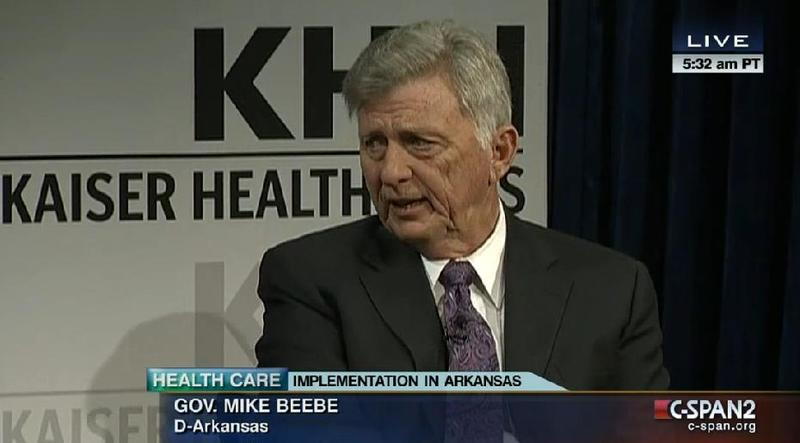 Governor Beebe on C-span