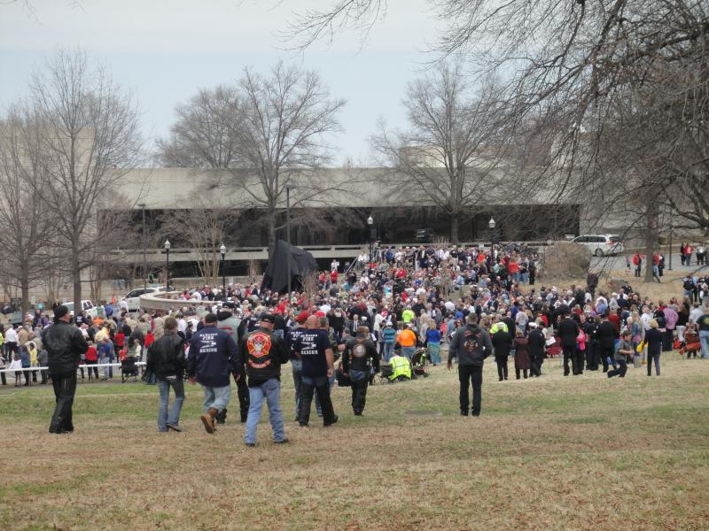 Thousands of attendees.