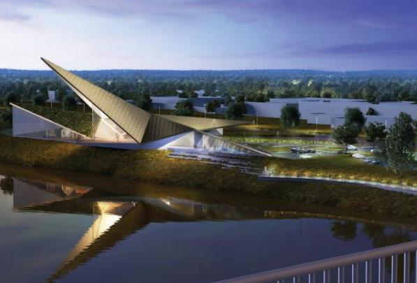 Rendering of U.S. Marshals Museum