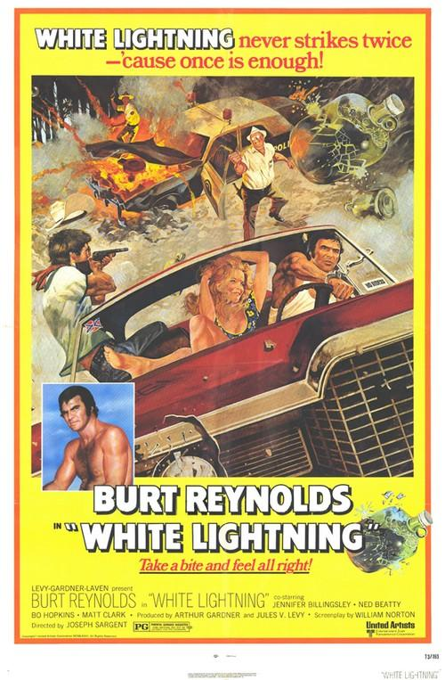 Movie poster for White Lightning