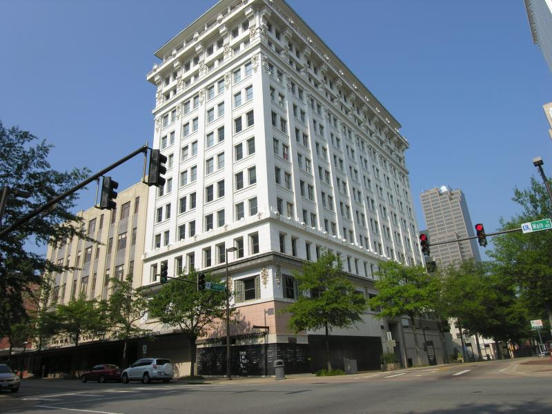 Boyle Building on Main Street in Little Rock