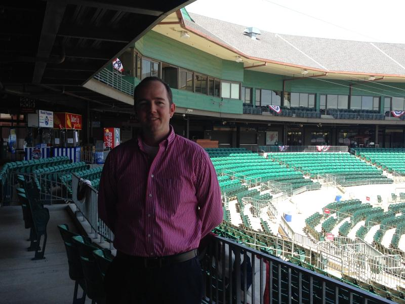 General Manager Paul Allen of the Arkansas Travelers