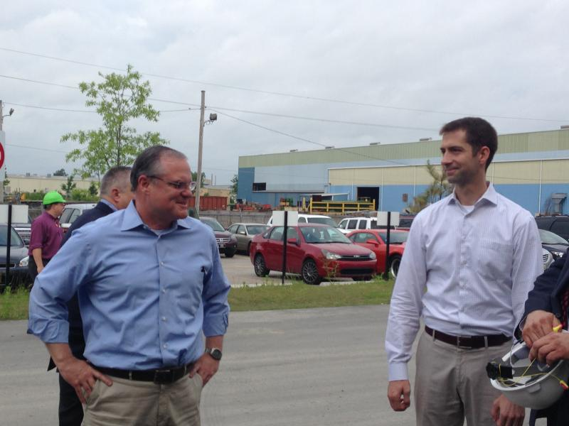 Representative Tom Cotton and Senator Mark Pryor