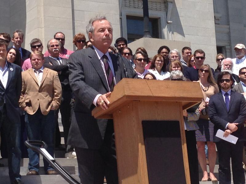 Arkansas Bar Association Professional Ethics Committee Chair Brad Hendricks on the Capitol Steps