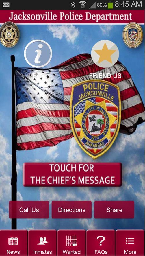 jacksonville police department app