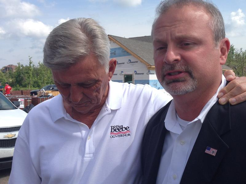 Gov. Mike Beebe, Judge Allen Dodson