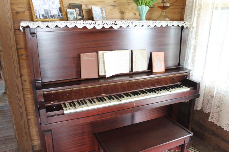 Johnny Cash often talked about his mother's piano.