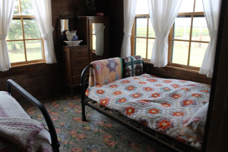 Another bedroom in Johnny Cash's boyhood home.