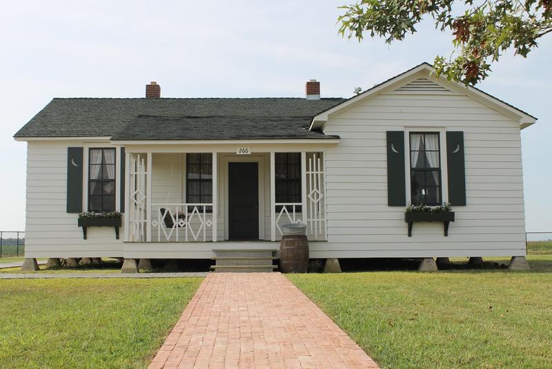 SLIDESHOW: Johnny Cash's restored boyhood home before opening to visitors Saturday.
