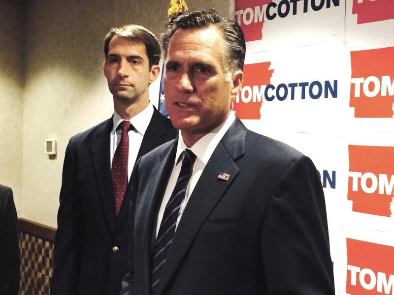 Tom Cotton Mitt Romney