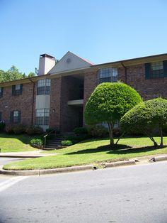 The Waterford apartment complex in Little Rock.