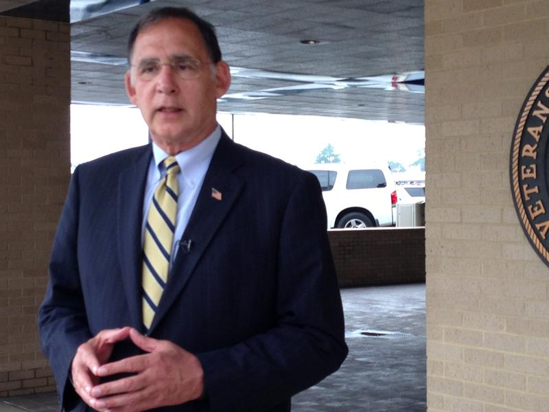 U.S. Sen. John Boozman (R) at Little Rock's VA Hospital