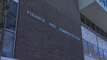 Arkansas Department of Finance and Administration building in Little Rock.