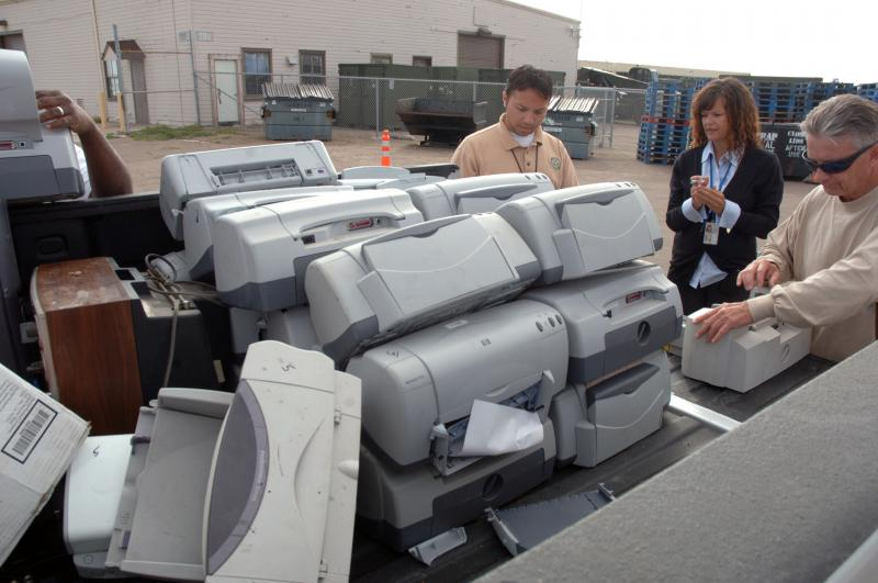 electronics recycling waste