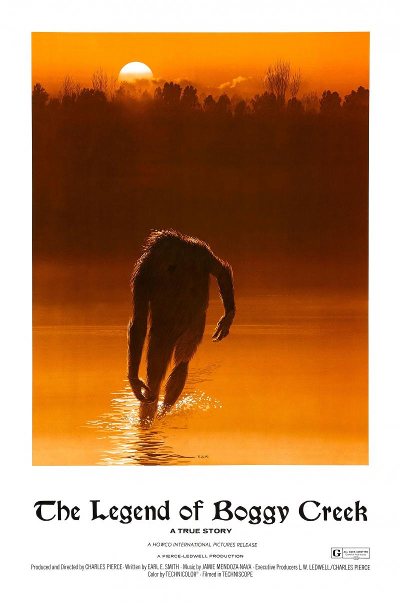 "Movie poster for ""The Legend of Boggy Creek"""