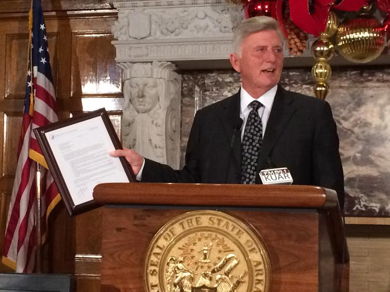 Governor Mike Beebe Arkansas Research Alliance