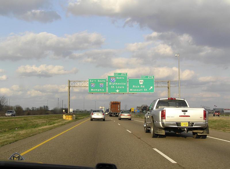 Interstate 40 Interstate 55 West Memphis