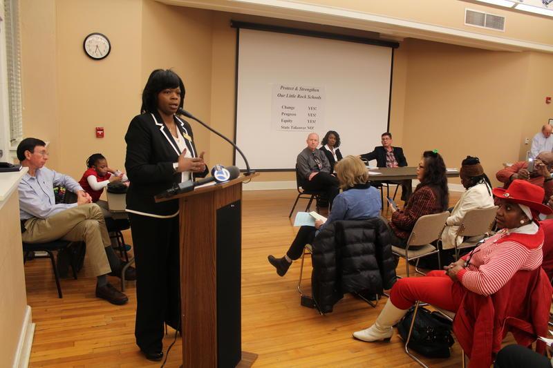LRSD Board member Tara Shephard talks about her role as a board representative and LRSD parent.