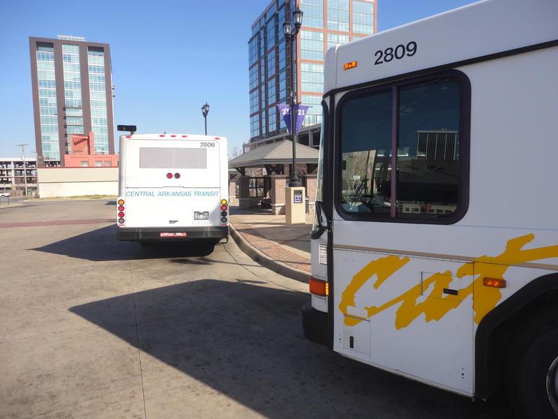 Central Arkansas Transit Authority CATA bus